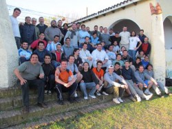 Encuentro seminaristas en Las Peñas