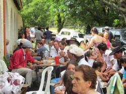 Fiesta de los gauchos en Las Peñas