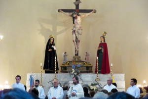 El Seminario en el Santuario del Cristo de la Buena Muerte de Reducción
