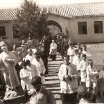 Procesión con el Niño de la Sagrada Familia