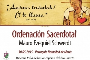 El Diácono Mauro E. Schwerdt se Ordena Sacerdote