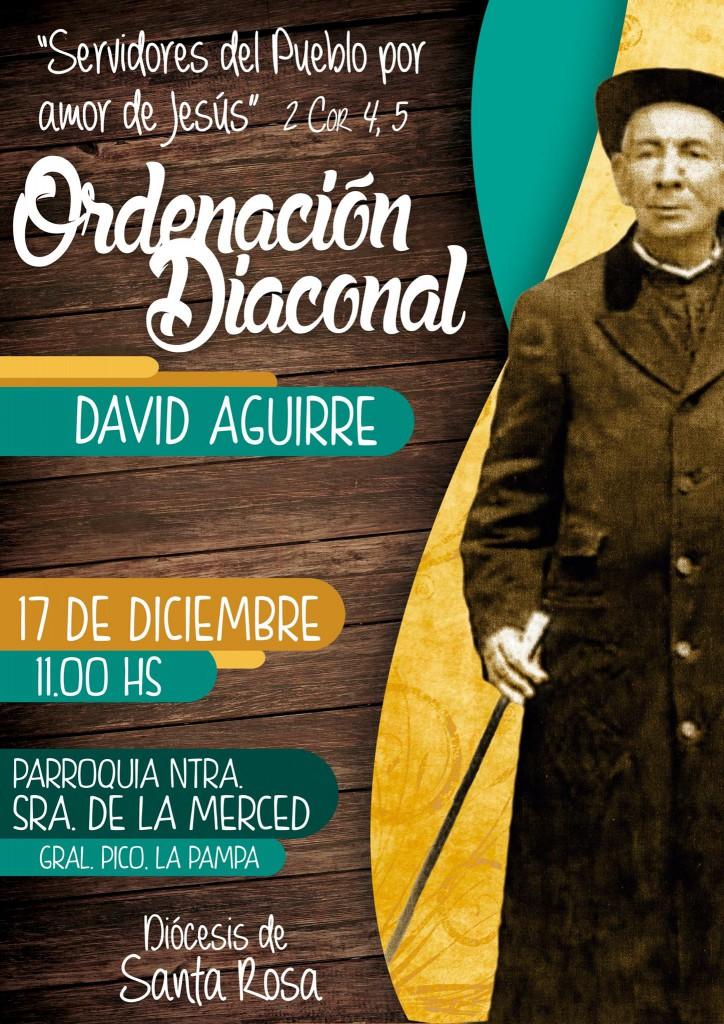 Ordenación David Aguirre