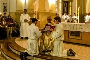 Seminarista de Río Cuarto es Instituido Acólito